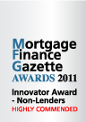 Mortgage Finance Gazette Awards 2011